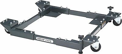 Shop Fox D2057A Adjustable Mobile Base, Small Free Shipping