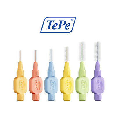 TePe Extra Soft Interdental Brushes, Various Sizes & Colours, Packets of 8