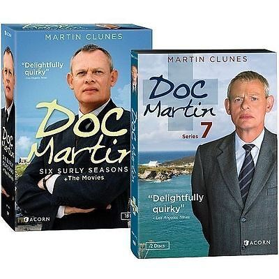 Doc Martin: The Complete Series Season 1-7 DVD New
