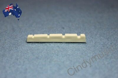 NEW Bass Guitar Nut Slotted Up-Saddle For Electric bass 4 String