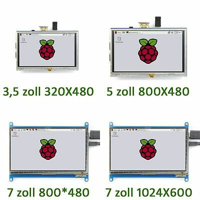 Neu Display für Raspberry Pi 3/ 2/ B+ 3.5'' bis 7''  LCD HDMI Touch Screen &7
