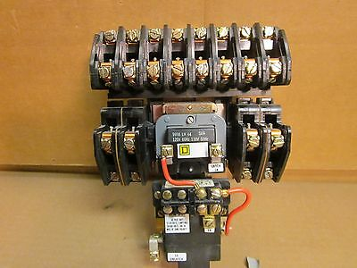 Square D Lighting Contactor Class 8903 Type LXO 1200 (LX01200) 120V Coil 12 Pole