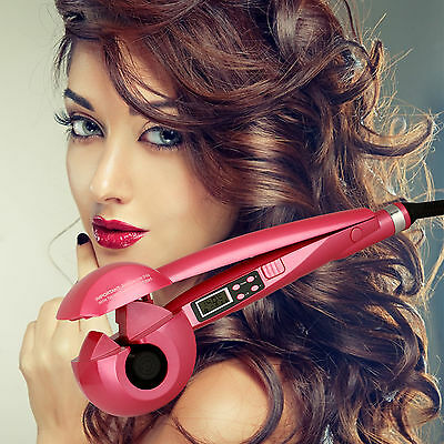 Curling Machine Automatische LCD Lockenmaschine Locken Lockenstab Styling Curl