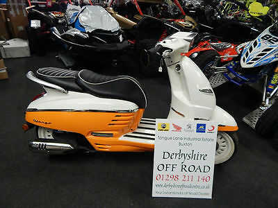 New Peugeot Django 125cc Evasion 2016 Model - Scooter Moped - PRICE REDUCTION