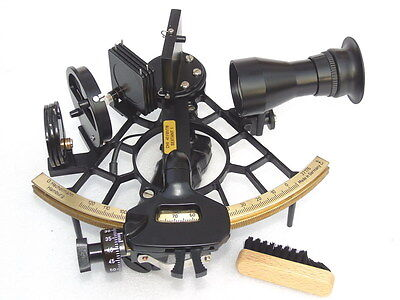 Mint G Hechelmann Hamburg Germany Marine Sextant C & P Nr.37176 With Case