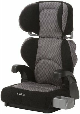 Convertible Safety Cosco Pronto Booster Car Seat Linked Black  Discontinued