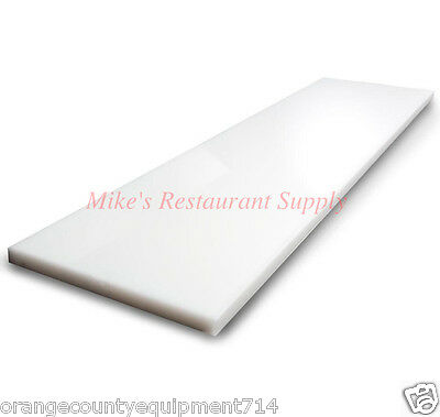 """NEW 48""""x8"""" Cutting Board For Prep Table #1221 Pizza Sandwich Commercial NSF"""