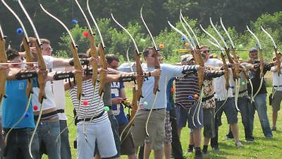 The Ultimate Archery Experience Gift Voucher inc Spit Roast lunch