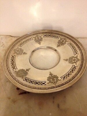 Vintage Birks Sterling Silver 3316 Platter 9 Inches Wide Appx. 8-1/2 Troy Oun.