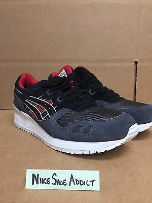 hot sale online 668e7 1ed55 ASICS GEL LYTE III 3 Black/Red/White H6X2L-9090 kith tiger japan Premium  Running