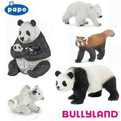 PAPO / BULLYLAND Wild Animal Kingdom BEARS and PANDAS - Choice of 17 with Tags