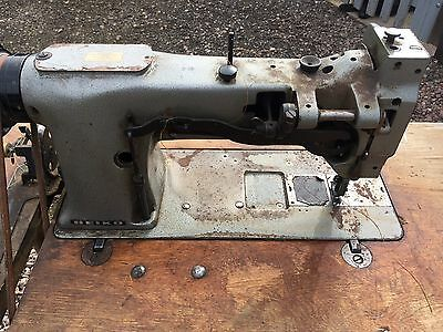 Seiko Industrial/Upholstery Sewing Machine- With Bench And Pedal