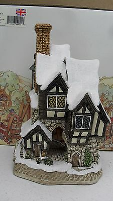 David Winter cottage MR BUMBLE 1997 christmas special box & cert