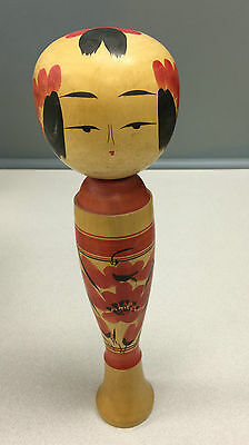 "Vintage Signed 14"" Wood Wooden Doll Figure - Simple but Elegant; Quality"