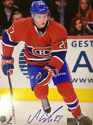 Autographed 8X10 - Alex Galchenyuk - Montreal Canadiens - Comes with COA