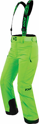 FXR Youth & Child Lime Snowmobile Youth & Child Squadron Pants Snocross