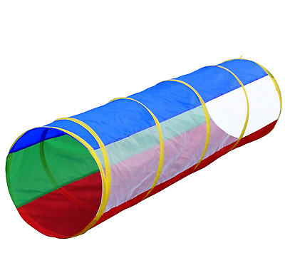 6 Foot Kids Pop up Play Tunnel, Indoor/Outdoor, by Hide-n-Side, FREE Exp Ship!!