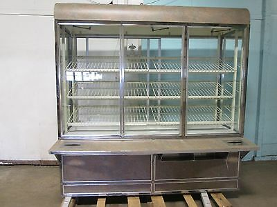 """structural Concepts"" Commercial Lighted Self-Serve Donuts/bakery Display Case"