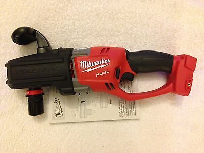 New Milwaukee Fuel 2708-20 M18 18V HOLE HAWG Right Angle Drill With QUIK-LOK