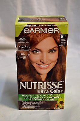 Garnier Nutrisse Nourishing Color Creme B4 Caramel Chocolate For Darker Hair