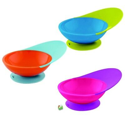 Boon Catch Bowl Feeding Bowl With Spill Catcher & Suction Base| Best Baby Bowl