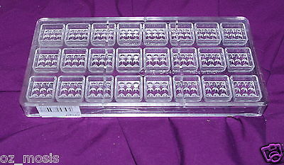 Chocolate Mould Mold Polycarbonate High Quality Professional Style Lot 4