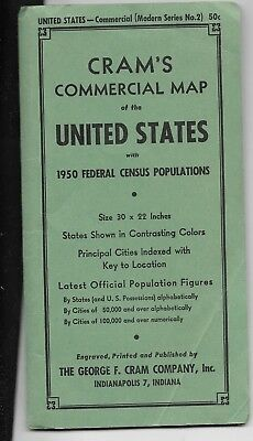 crams commercial map of united states with 1950 census