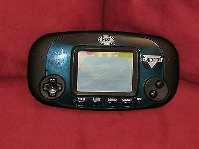 Fox Sports Handheld Ice Hockey game by Excalibur 1999 Working Batteries Included