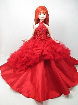 """Handcrafted Outfit beads tutu Dress 16""""doll Tonner Tyler Essential Ellowyne200-3"""