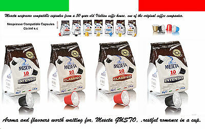 100 Nespresso coffee capsules pods mixed compatible  2 medal winning blends.