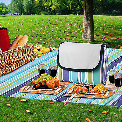 Extra Large Waterproof Picnic Blanket Rug Travel Outdoor Beach Camping 1.5x2M