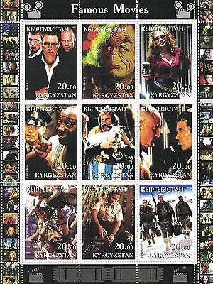 Snatch The Grinch Erin Brockovich Green Mile Mummy Returns Mnh Stamp Sheetlet