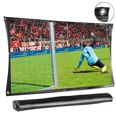 "Beamer Leinwand: Portable Leinwand ""Cinema"" 305 cm (120"") Diagonale"