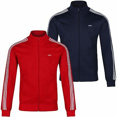 adidas ORIGINALS BECKENBAUER TRACK TOP FULL ZIP JACKET 3 STRIPES CASUAL S M L XL