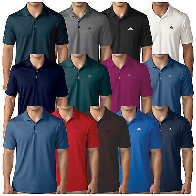 Adidas Mens Performance Polo Shirt - New Golf Short Sleeve T-Shirt Tour Top 2017