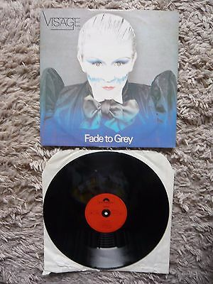"Visage Fade To Grey Original 1980 Polydor 12"" Vinyl Single 1st Press A1/B1"