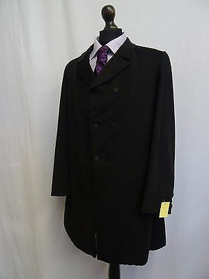 Men's Vintage Bespoke 1920's Morning Coat Swallow Tail Tailcoat Size 38R SS8138