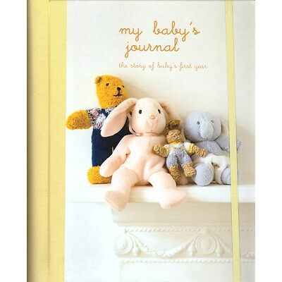 Ryland Peters & Small MY BABY'S JOURNAL UNISEX Baby/Toddler Record Book BN
