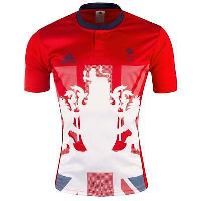 Official Licensed Product Adidas Olympics RIO 2016 Team GB Junior Rugby Jersey