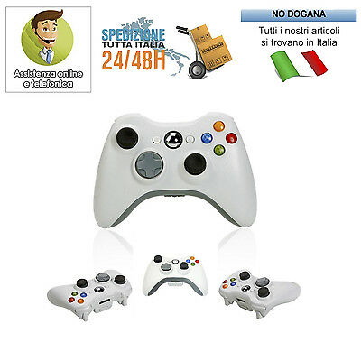 Joystick Joypad Xbox 360  Wireless Senza Fili Wifi Compatibile Controller
