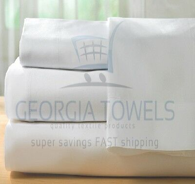 3 Twin 39X75X9 T180  Hotel Fitted Bed Sheets Premium Ga Towel Brand Cotton