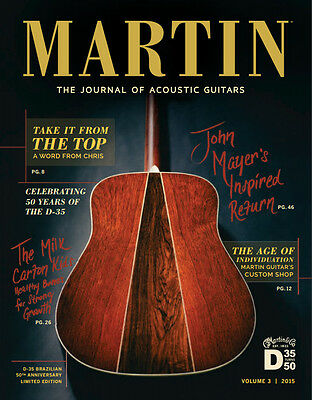 Martin The Journal Of Acoustic Guitars Vol. 3 2015 - New