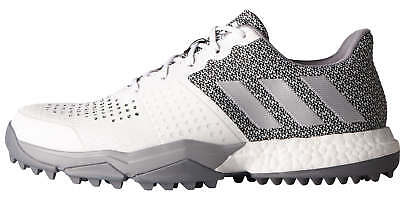 sneakers for cheap 34d8f a0cc6 Adidas Adipower S Boost 3 Golf Shoes Q44776 WhiteSilverLight Onix 2017 New