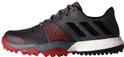 Adidas Adipower S Boost 3 Golf Shoes Q44778 Onix//Black/Scarlet 2017 New