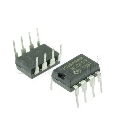 4pcs ON semi  UC3843 Current-Mode PWM Controller DIP8 UC3843AN US Seller