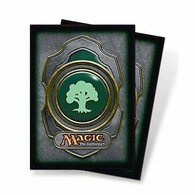 GREEN MANA FOREST SERIES 3 ULTRA PRO MTG 80ct Deck Protectors Card Sleeves NEW