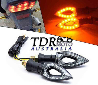 2x LED Turn Signals Light Lamps Indicators Motorcycle Hyosung GT250R GT650R