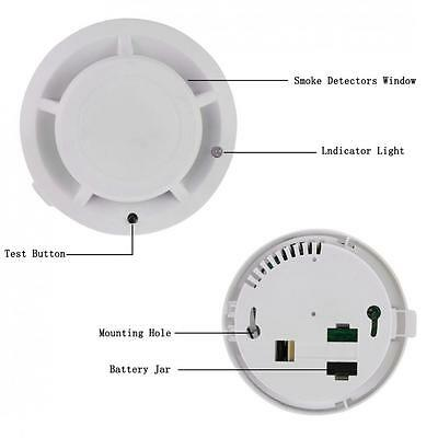 Combination Carbon Monoxide and Smoke Alarm Battery Operate CO & Smoke Detector