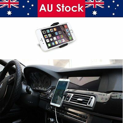 Air Vent Car Mount Mobile Phone Holder Universal 360° Compatible iPhone Samsung