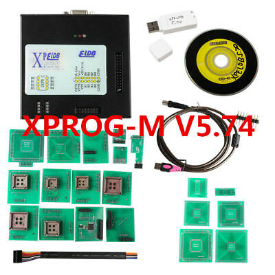 2018 Latest Version XPROG-M V5.74 ECU Programmer X-PROG  with USB Dongle XPROG